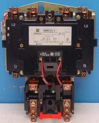 NEW Square D 8536SEO2S/8536SEO2V02S Contactor / Motor Starter 20 HP NEMA 3