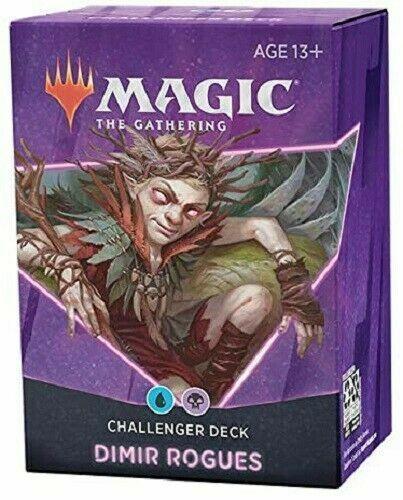 2021 Magic The Gathering Mtg Dimir Rogues Challenger Deck English Sealed