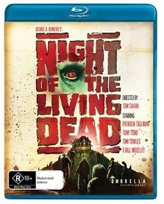 Night Of The Living Dead  1990  Blu Ray Region B
