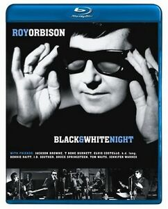 ROY ORBISON: BLACK AND WHITE NIGHT ~Brand New BLU-RAY~ RARE, OUT-OF-PRINT
