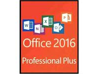 Office professional 2016 + key