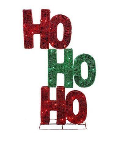 Outdoor christmas signs ebay for Outdoor christmas signs