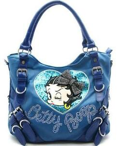b3a165f21d Betty Boop Leather Purse