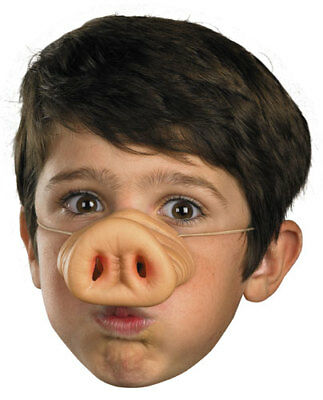Pig Nose Facial Piece for Halloween - Pig Nose Halloween Costume