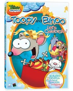 Kids DVD's - Toopy & Binoo, Bob the Builder, and others