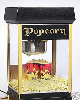 New Fun Pop 8 Oz. Black Gold Popcorn Popper By Gold Medal