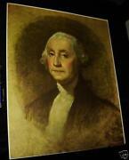 Antique George Washington Print