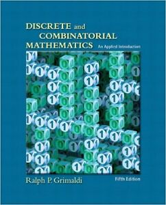 Discrete and Combinatorial Mathematics (5th Edition)