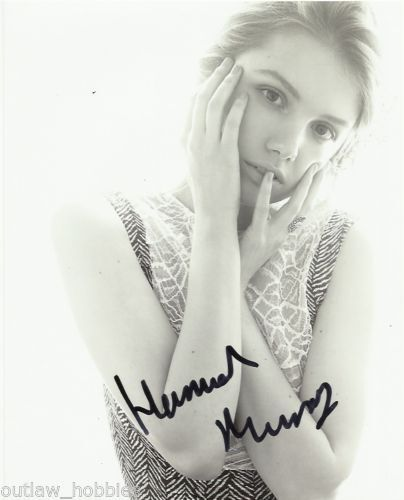 Hannah Murray Game of Thrones Autographed Signed 8x10 Photo COA #1