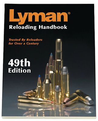 Lyman 49th Edition Reloading Handbook Soft Cover Factory Sealed Condition