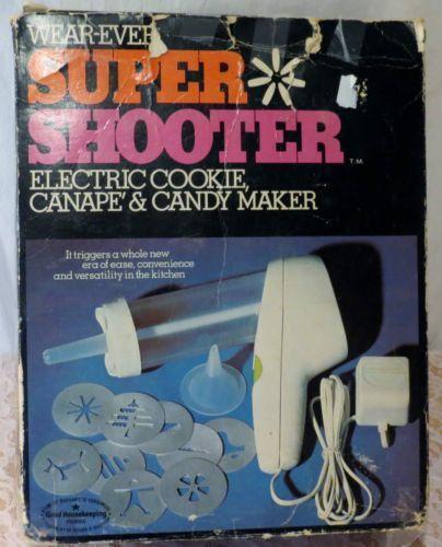 Super Shooter Cookie Press Ebay