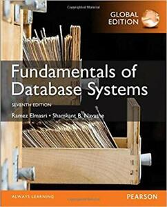 Fundamentals of Database Systems Global (Seventh) Edition