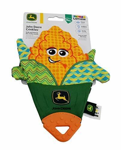 "John Deere""Corn"" Crinklies Toy - LP73964-CORN"