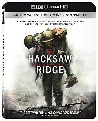 Hacksaw Ridge 4K Blu ray + Blu ray + Digital HD 2017 Great War Movie Sealed for sale  Houston