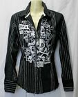 Blouses for Women's Skull
