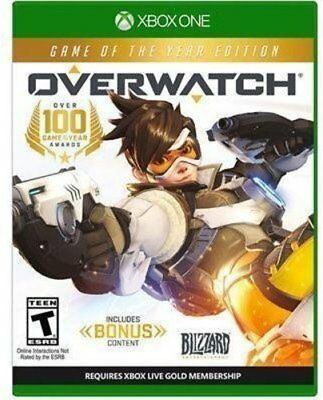 Overwatch Game Of The Year Edition   Xbox One Brand New