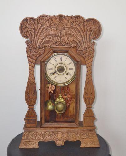 Antique Kitchen Clock Ebay