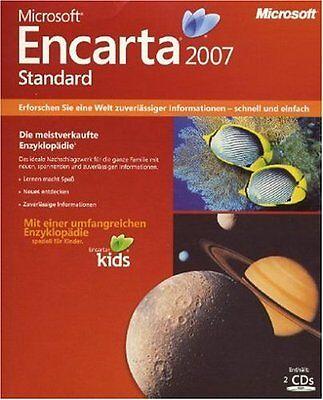 300x PC Microsoft Encarta 2007 Enzyklopädie Deutsch NEU+OVP