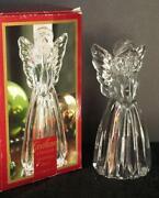 Crystal Angel Candle Holder