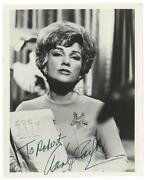 Anne Baxter Signed