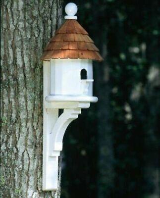 Lazy Hill Farm Designs Small Shingled Bird House 41429 With Bracket Lazy Hill Farm