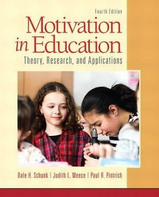 Motivation In Education  Theory Research And Applications 4E Global Edition