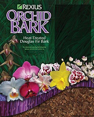 Rexius Douglas Fir Bark for Orchids - Small Chip Size - 2 1/2 Gallon