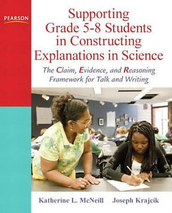 SUPPORTING GRADE 5-8 STUDENTS IN SCIENCE McNeill & Krajcik W/DVD
