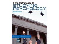 A Students Guide to Studying Psychology by Thomas M Heffernan 3rd Edition £7 ONO