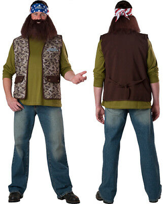 Duck Dynasty Willie Reality TV Costume Accessory Set - Reality Tv Costumes Halloween
