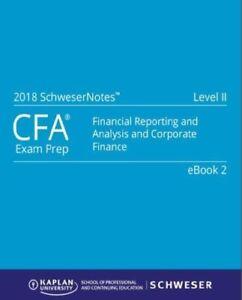 2018 CFA LEVEL 2 ALL STUDY PACKAGE + BONUS
