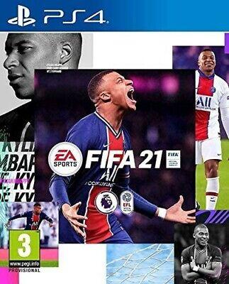 FIFA 21 PS4 SIGILLATO GIOCO NUOVO DI ZECCA ITALIANO PLAYSTATION4 NO DIGITALE.