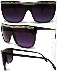 8b1c7daf2d Rhinestone Flat Top Sunglasses
