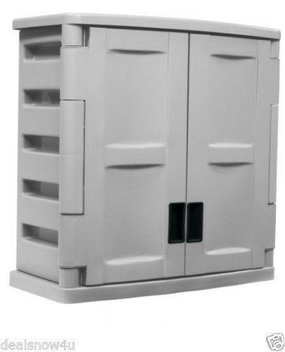 Utility Storage Cabinet Ebay