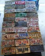 Vintage Wyoming License Plate