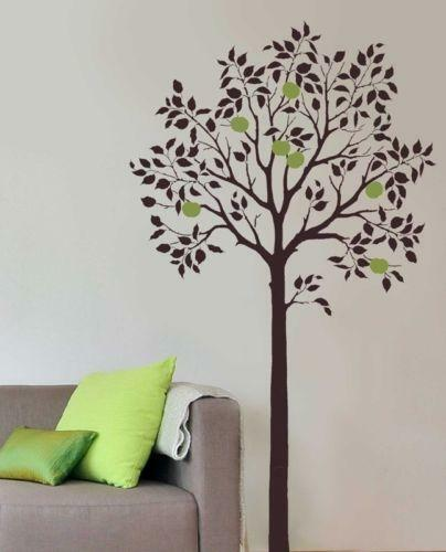 Large tree wall stencil ebay for Large tree template for wall