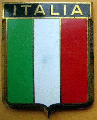 Badge auto car drago 1950s original Italia Italy Italian 070