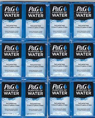 P & G Purifier of Water Packets 12-Pack Purification Powder Packs