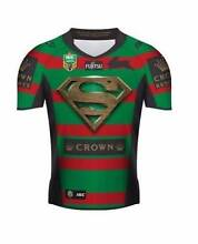 BRAND NEW 2015 Rabbitohs Superman Jersey Size Small