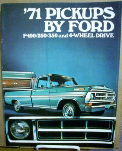 ford trucks classics | 1971 Ford F-100 - COLORADO SPRINGS 80910 ...