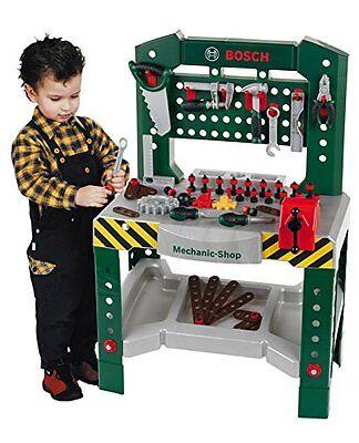 Theo Klein Kinderspiel Bosch Werkbank mit 77 Teilen Spielwerkzeug Rollenspiele