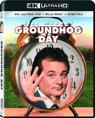 Groundhog Day  New 4K Uhd Blu Ray  Only At Best Buy  With Blu Ray  Uv Hd Digit