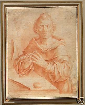 dutch golden age Old Master drawing of Nicholas Steno