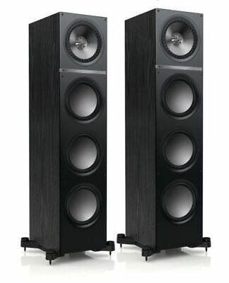 KEF Q900 Floor Standing Speakers - Black - CTI - NIN-0480