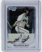 2011 Bowman Chrome Brandon Belt