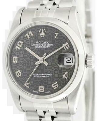 Rolex Datejust Stainless Steel Jubilee Dial Midsize Ladies Watch 68240