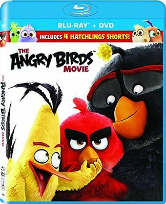 The Angry Birds Movie, 2016, Blu-Ray + Digital HD, 2 Disc Set, Free Shipping
