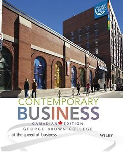 Contemporary Business textbook - George Brown Edition
