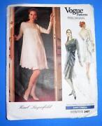 Vogue Lagerfeld Pattern