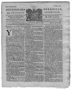 Colonial Newspaper